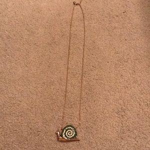 Kate Spade Snail Necklace